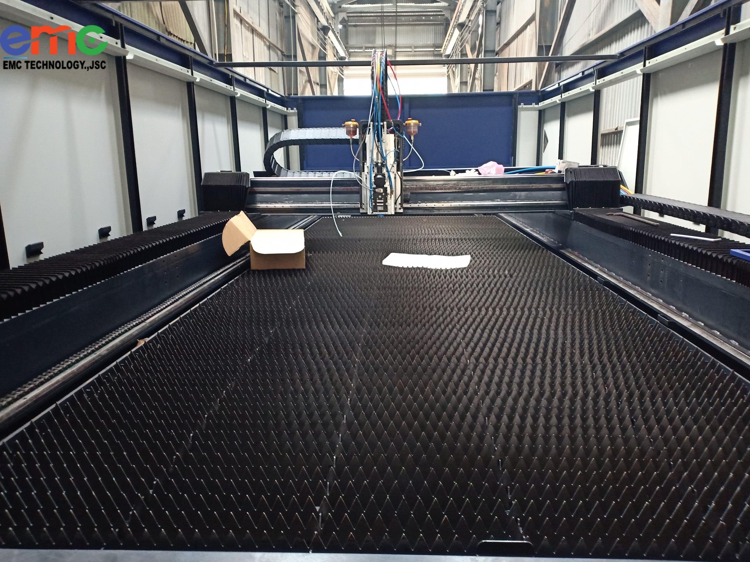 Máy Cắt Laser Penta Swing được Lắp đặt Tại Cơ Khí Cường Thành