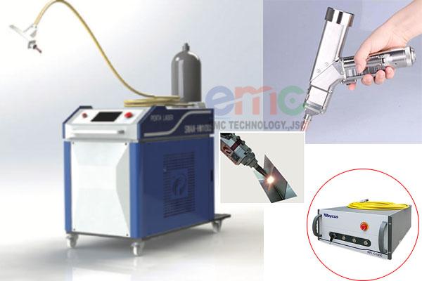 cấu tạo máy hàn laser cầm tay